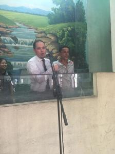 """The chief Santero """"sealing the deal"""" through baptism...GLORIA A DIOS!!!!"""