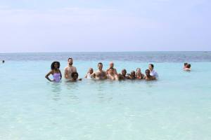 Couple of us enjoying the warmness of Cuba before going back to the tundra of Berrien Springs, MI