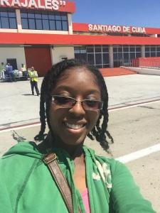 First selfie in Cuba!!!!