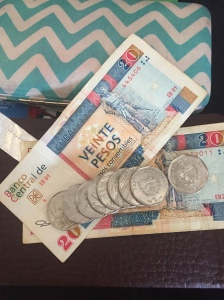 Cuban money, CUC (Cuban Currency Convertibles) and Pesos